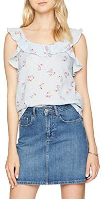 Vero Moda Women's Vmcille Sl Top Vest,(Size: Small)