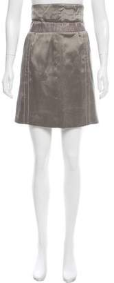 Rochas Silk Mini Skirt