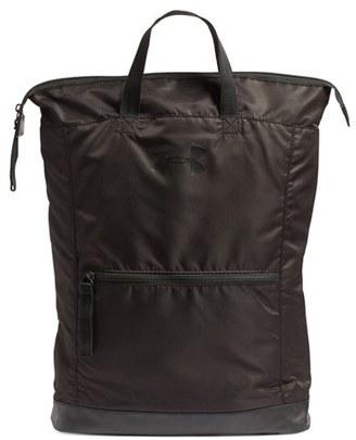 Under Armour 'Multi-Tasker' Water Repellent Backpack - Black $49.99 thestylecure.com