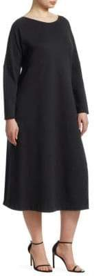 Marina Rinaldi Marina Rinaldi, Plus Size Jersey Relaxed-Fit Dress