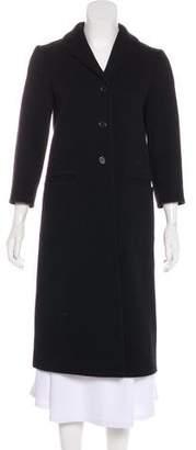 Miu Miu Wool Single-Breasted Coat