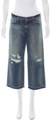 Simon Miller Mid-Rise Wide-Leg Jeans