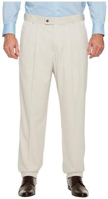 Perry Ellis Portfolio Big and Tall Double Pleat Melange Portfolio Dress Pants Men's Dress Pants