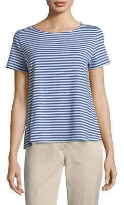Max Mara Stripe Short-Sleeve Tee