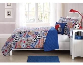 Laura Hart Kids Kids Quilt Set with BONUS Decorative Pillow