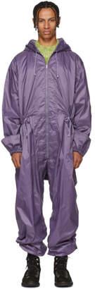 Marni Purple Full Jumpsuit