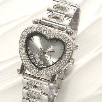 Disney (ディズニー) - ディズニーデリシャスハートプーさん腕時計 ホワイト