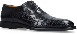 Brotini Crocodile Oxford Shoes