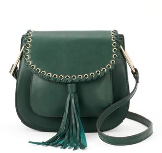 Deluxity Heather Flap Crossbody $59 thestylecure.com