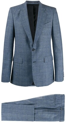 Givenchy checked slim-fit suit