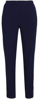Halston Jersey Slim-Leg Pants