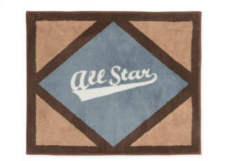 JoJo Designs Sweet All Star Sports Floor Brown/Gray Area Rug Rug
