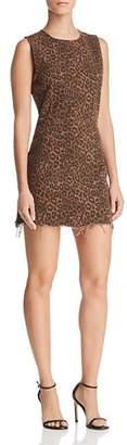 Alexander Wang Leopard-Print Mini Dress