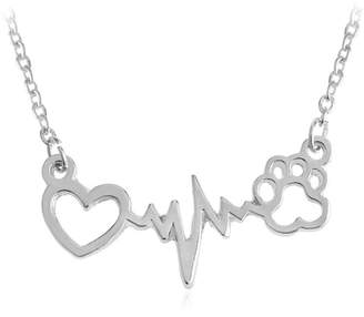 Nana Dog / Cat Pet Love Necklace Stainless Steel