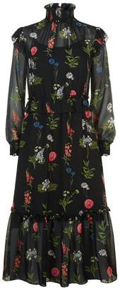 Ted Baker Simarra Floral Midi Dress