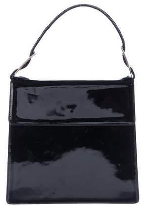 Salvatore Ferragamo Patent Leather Top Handle Bag