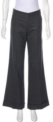 Chaiken Wool Wide-Leg Pants