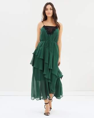 Cooper St Lucille Tie Midi Dress
