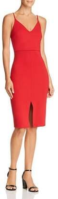 Aqua Slit Sheath Dress - 100% Exclusive
