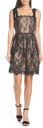 Heartloom Emma Fit & Flare Lace Dress