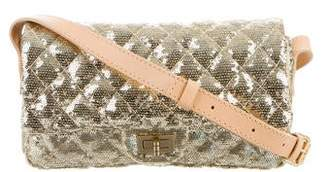 Chanel Small Sequin Reissue Messenger Flap Bag