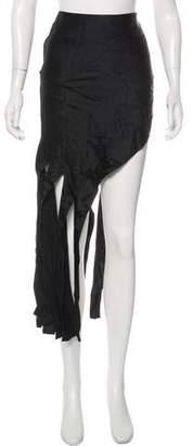 Alexander Wang Midi Fringe Skirt
