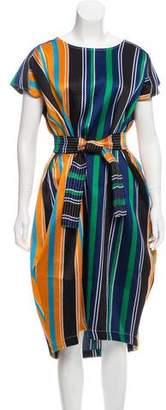 Collection Privée? Belted Striped Dress w/ Tags