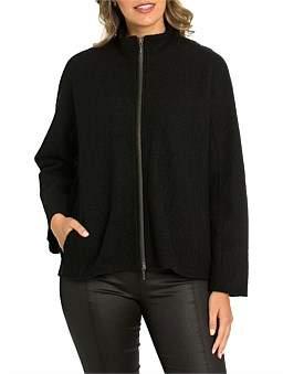 Marc O'Polo Marco Polo Long Sleeve Boiled Wool Jacket