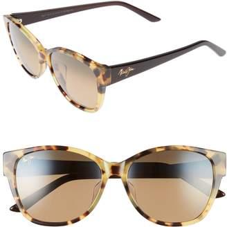 Maui Jim Summer Time 54mm PolarizedPlus2(R) Cat Eye Sunglasses