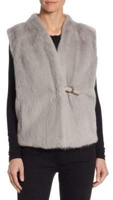 Julia & Stella Mink Wool Vest