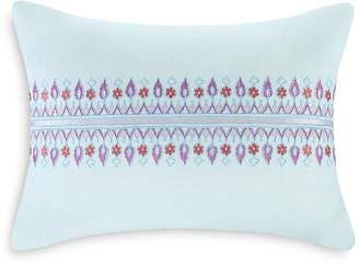 Echo Sofia Embroidered Decorative Pillow, 12 x 16