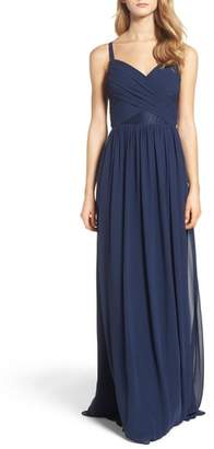 Paige Hayley Occasions Sleeveless Chiffon Gown