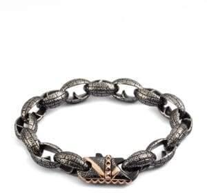 Stephen Webster Steel Link Bracelet