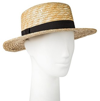 Merona Women's Boater Hat $12.99 thestylecure.com