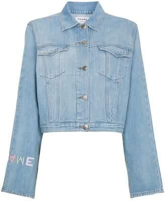 Frame Le Embroidery デニムジャケット