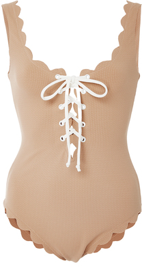 Marysia Swim Palm Springs Tie Maillot $350 thestylecure.com