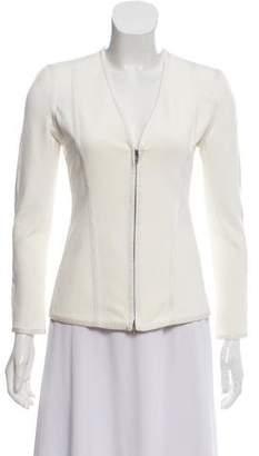 Donna Karan Long Sleeve Knit Jacket