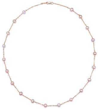 "Bloomingdale's Pink Cultured Freshwater Pearl Choker Necklace in 14K Rose Gold, 18"" - 100% Exclusive"