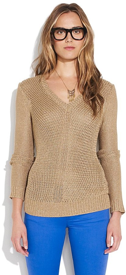 Midnight glow sweater