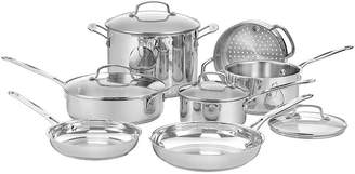 Cuisinart 11-pc. Stainless Steel Cookware Set