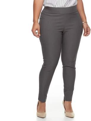Apt. 9 Plus Size Twill Pull-On Skinny Pants