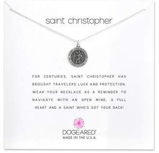 Dogeared St. Christopher Pendant Necklace