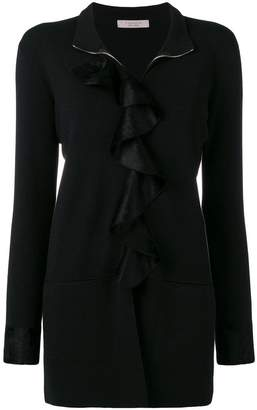 D-Exterior D.Exterior ruffle trim turtleneck sweater