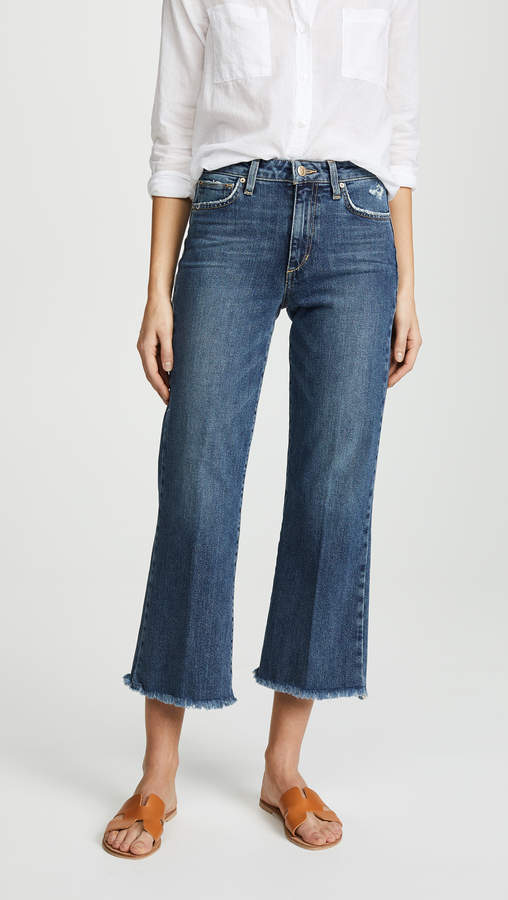 The Wyatt High Rise Retro Crop Jeans