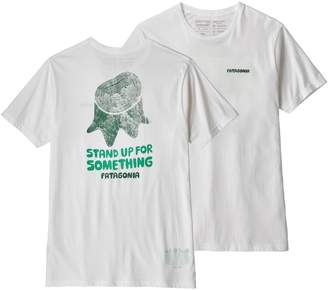 Patagonia Men's Stand Up Organic Cotton T-Shirt