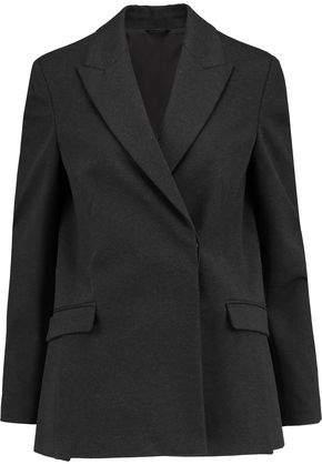 Cotton-Blend Jersey Blazer