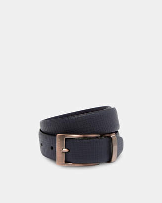 Ted Baker KONG Reversible buckle leather belt