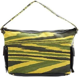 Missoni Multicolour Leather Clutch Bag