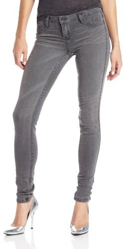 Bleu Lab BLEULAB Women's Fortis Detour Reversible Legging Jean in Light Gray/Dark Gray