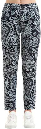 Elwood Indian Paisley Print Denim Jeans